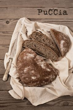 rye bread with cumin seeds