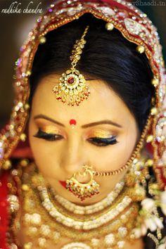 Indian Bridal Make-Up and Hair Looks by Bhaavya Kapur   Myshaadi.in