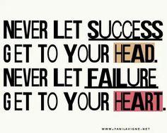 Succes en falen....