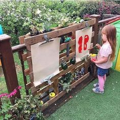 The curiosity approach in my setting Outdoor Learning Spaces, Kids Outdoor Play, Outdoor Play Areas, Kids Play Area, Backyard For Kids, Outdoor Fun, Backyard Play Areas, Childrens Play Area Garden, Kids Outdoor Spaces