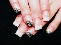 A little lace by Sarahpayne89 - Nail Art Gallery nailartgallery.nailsmag.com by Nails Magazine www.nailsmag.com #nailart