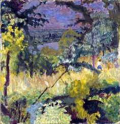 View of the River-Vernon, Pierre Bonnard-1923