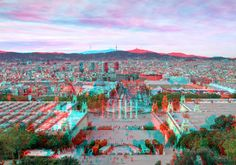 3D about Barcelona from MNAC