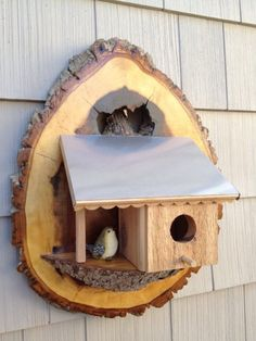 Bird House Kits Make Great Bird Houses Homemade Bird Houses, Bird Houses Diy, Bird House Plans, Bird House Kits, Bird House Feeder, Bird Feeders, Birdhouse Designs, Birdhouse Ideas, Bird Aviary