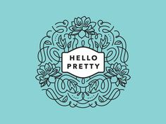 Hello Pretty Logo Mockup