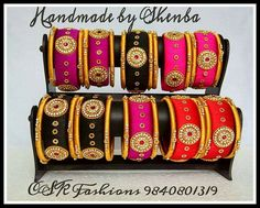 Silk Thread Bangles, Thread Jewellery, Diy Jewellery, Jewelery, Silk Thread Necklace, Beaded Necklace Patterns, Earrings Handmade, Handmade Jewelry, Jewelry Model