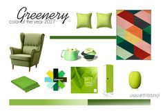color of the year 2017, greenery
