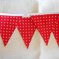 Valentine's Day or Christmas Bunting Banner by StarshineSalon, $12.00