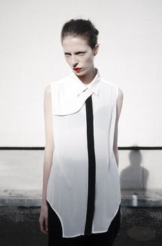 Blouse from Elin Kling's and Nhu Duong's brand Nowhere. #fashion FashionCherry http://fashioncherry.co/
