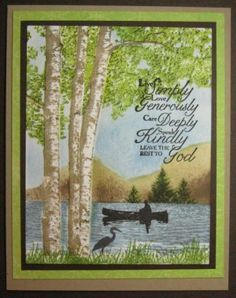 Multi Step Birch Trees, Multi Step Pine Trees, and Multi Step Cabin by the Lake: Kitchen Sink Stamps, summer, allee's, on splitcoaststampers