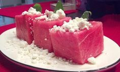 Newton Citizen | THE RECIPE BOX: Watermelon goat cheese salad a unique July Fourth treat