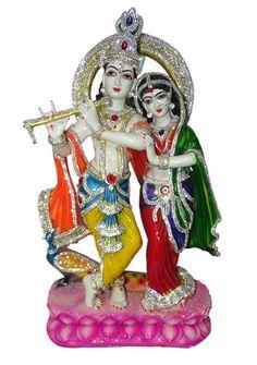 Jarkan Radha Krishna Idol Statue By Paras Magic God Idols & Statues