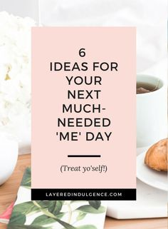 You definitely deserve a me day every once in a while! From pampering yourself with a face mask to working on your cooking skills, these me day ideas are everything!
