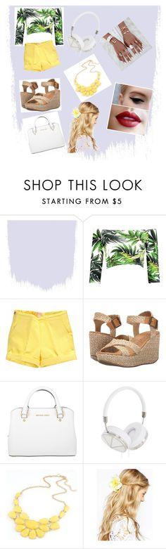 """summer morning"" by raniadayaa ❤ liked on Polyvore featuring Boohoo, Blowfish, Michael Kors, Frends, ASOS, women, polyvorefashion and summermorning"