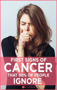 First Signs Of Cancer That 90% Of People Ignore #health #wellness #trending #trends #trendingnow