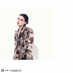 #Repost @1nstant.fr  Morning collection go #ootd #pfw2016 #designer #collection #like #richardquinn #fashionblogger #fashioneditorial #parisienne #beauty #model #style #thanks @hugoinsta @stefaniaeysteins @masae.ito @because_nathalietricot @wmmodels @taan_doan @masae.ito @1nstant.fr @christinelerche