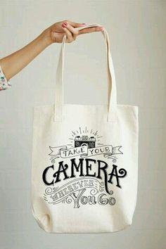 Take your camera wherever you go bag