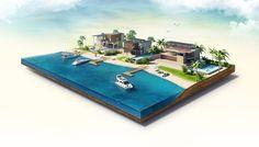 Amazing Islands on Behance