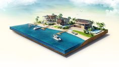 Amazing Islands on Behance