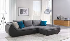 Miami and Aventura Contemporary and Modern Furniture - Cr Plato Sectional Sofa Sleeper Modern Sleeper Sofa, Sectional Sofa With Chaise, Cushions On Sofa, Sofa Sleeper, Sofa Beds, Deep Sectional, Small Sectional, Fabric Sectional, Modern Sectional