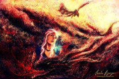 Daenerys Targaryen - Game of Thrones - Varsha Vijayan