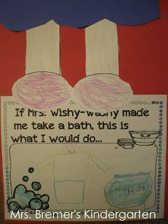 Some great ideas Mrs. Wishy-Washy
