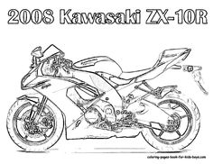 motorcycle coloring pages motorcycle coloring pages 2