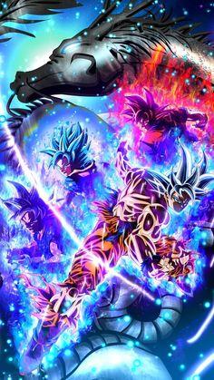 So today Dragon Ball Super Ch 44 came. When Goku tried to find him with Ki. Dragon Ball Gt, Dragon Ball Image, Goku Transformations, Anime Dragon, Foto Do Goku, Goku Wallpaper, Dragonball Wallpaper, Mobile Wallpaper, Bridge Wallpaper