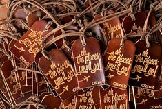 PERSONALIZED LUGGAGE TAGS  Bulk Wholesale Wedding Favors by Exsect