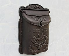 CIV006 French Victorian Style Vintage European High-grade Cast Iron Crafts Retro Old Style Mailbox Newspaper Boxes Wall Mural Queen Size Antique Bronze Color amoylimai http://www.amazon.com/dp/B015B5VW9G/ref=cm_sw_r_pi_dp_QPO9vb1MEKNH8