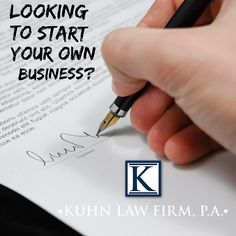 Looking to start your own business? Pay a visit to Kuhn Law Firm so they can assist you with any legal challenges and get a $500 flat fee. Visit LivingLocalFL.com to redeem your offer. #legal #lawfirm #business #businessowner #thinklocal #buylocal #livelocal #livinglocal #localbusiness #supportlocal #supportsmall #swfl #swflorida #fortmyers #estero #bonitasprings #naples