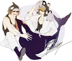 Heart Pirates Shachi Penguin One Piece