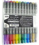Amazon.com : Copic Atyou Spica Glitter Pen Set B One Each Of 12 Colors (Includes Clear) GL12SETB : Artists Markers : Office Products