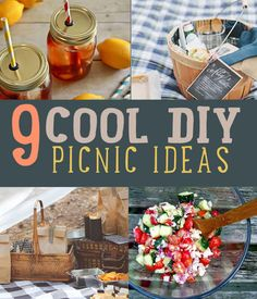 Thinking about what the best picnic food ideas are? Check out how to make the best DIY picnic food and craft projects. Mason jar recipes are fun and simple!