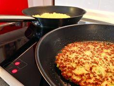Low Carb Rösti ohne Kartoffeln – Kohlenhydratarme Ernährung www.paulkliks.com