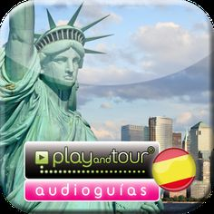Cover art Rockefeller Center, Empire State, National Geographic, Times Square, Google Play, Cover Art, Statue Of Liberty, Tours, App