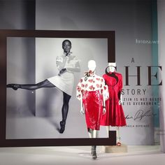 "DE BIJENKORF, Amsterdam, The Netherlands, ""A SHE STORY"", for Michaela Deprince, pinned by Ton van der Veer"