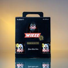 Gift box 4x 33cl Wieze Triple + Unique 33cl glass