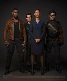 Arrow - The Suicide Squad - Bronze Tiger, Shrapnel, Amanda Waller, Deadshot