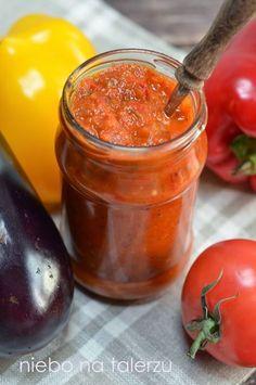 niebo na talerzu: Pomidorowy sos do słoików. Lutenica / ljutenica
