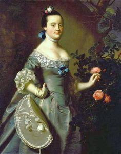 1763 John Singleton Copley (American colonial era artist, 1738-1815) Hannah Loring.