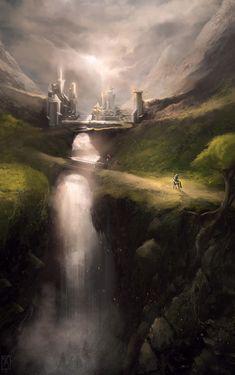 http://thekaffer.cgsociety.org/art/concept-photoshop-art-digital-painting-homecoming-fantasy-2d-1243223 Fantasy Art Engine