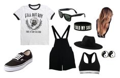 """""""Alice Springs #5"""" by taiga9 on Polyvore featuring Vans, American Apparel, Ray-Ban, Element and Calvin Klein"""