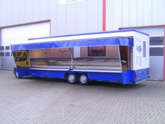 Esselmann market stall Fiat Ducato with AMC chassis