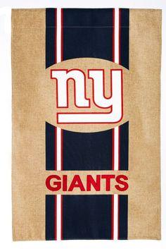 New York Giants Burlap Garden Flag Novelty Socks, Novelty Gifts, Beer Bottle Opener, Bottle Openers, Burlap Garden Flags, Giants Football, Evergreen Enterprises, Digital Printer, Nfl Sports