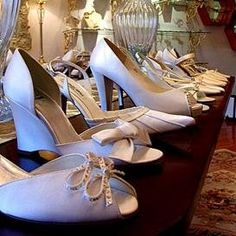 If you're like me, your bridal shoes are a pretty important part of your wedding-day ensemble. But lucky for you that there are so many options these days.