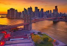 Dusk Over Manhattan