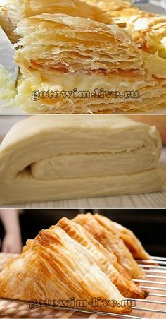 Tasty puff pastry in 10 minutes- Tasty puff pastry .- Вкусное слоеное тесто за 10 минут- Вкусное сл… Tasty puff pastry in 10 minutes – Tasty puff pastry in 10 minutes – # bestpastryinparis - Baking Recipes, Dessert Recipes, Cooking Cookies, Puff Pastry Recipes, Food Platters, No Cook Meals, Good Food, Food And Drink, Tasty