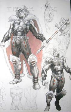 Thor by Simone Bianchi Comic Art