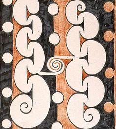 Untitled (Maori design) by Theo Schoon Waitangi Day, Maori Words, Bay Of Islands, Maori Designs, Maori Art, Kiwiana, Bone Carving, Painting Patterns, New Zealand